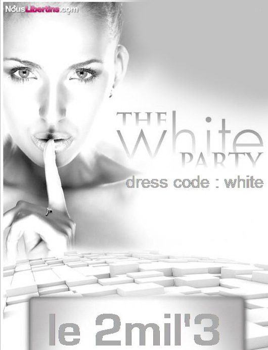 Soire WHITE PARTY - Le 2mil3 - Hyres