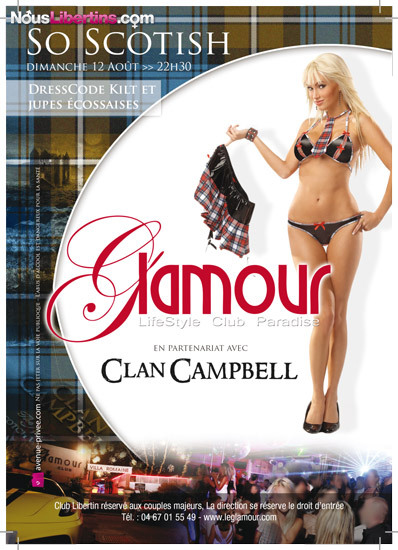 Soirée So Scotish - Le Glamour - Agde